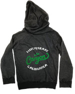 G. Custom Youth Latimer Zip Hoodie - Almost Black