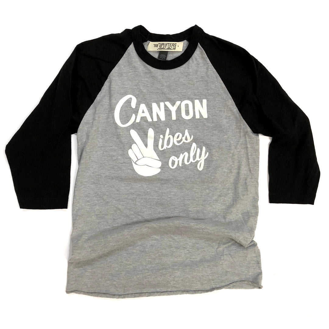 Canyon Vibes Raglan - youth & adult size available