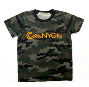 Canyon Camo Tee - youth
