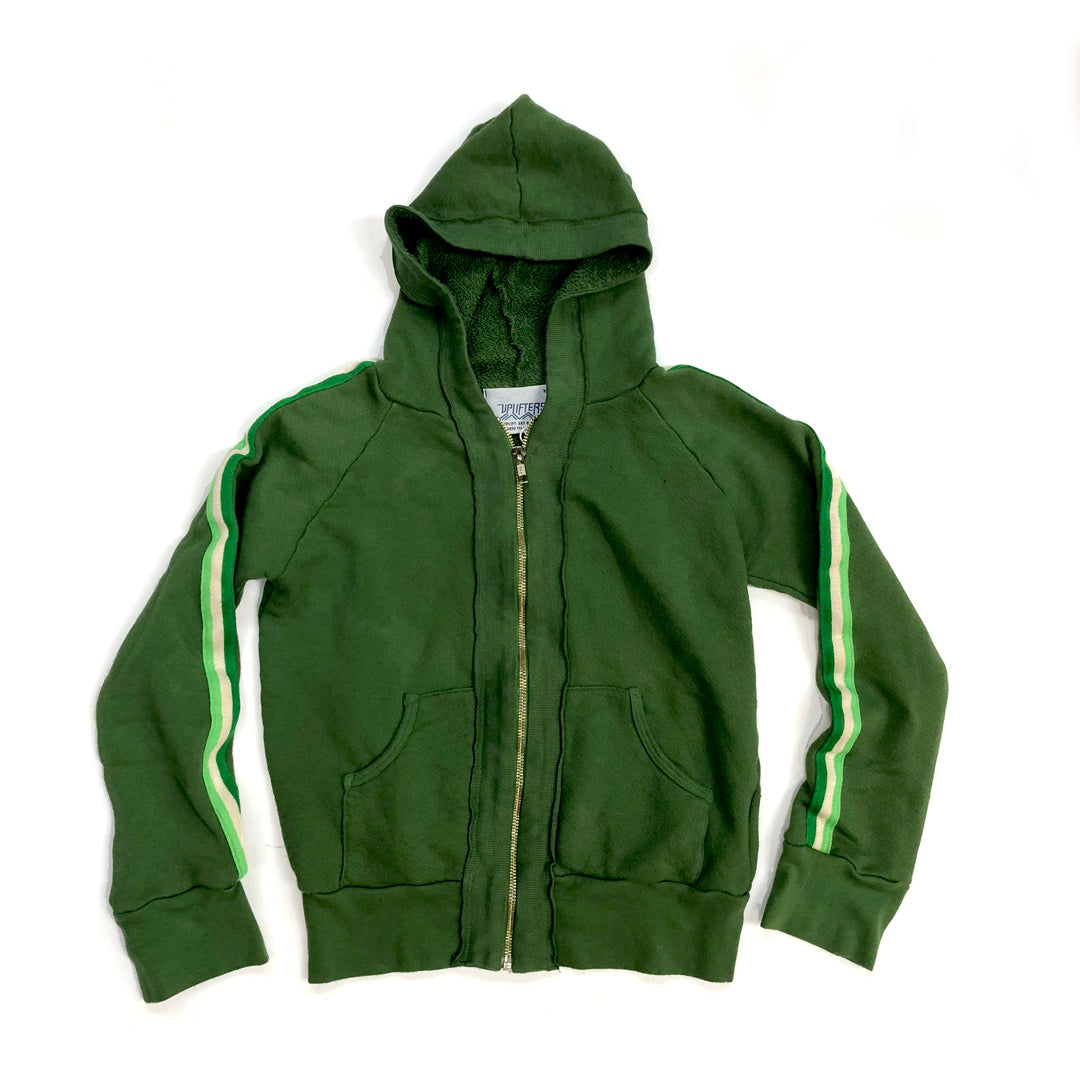 A1.  Kids Latimer Zip Hoodie - Forest Green