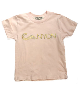 N. Youth Canyon Peach tee