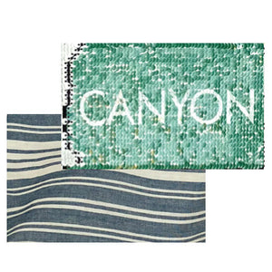 Canyon sequins Zipper pouch - camo