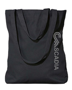 Organic Cotton Tote - black