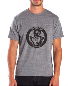 Men's Tri Blend Dragon Tee