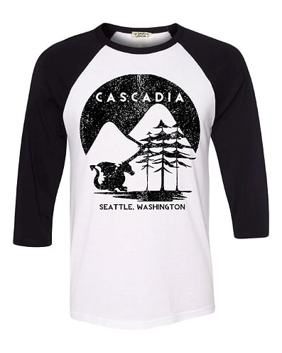 Mountain Raglan Tee - Adult