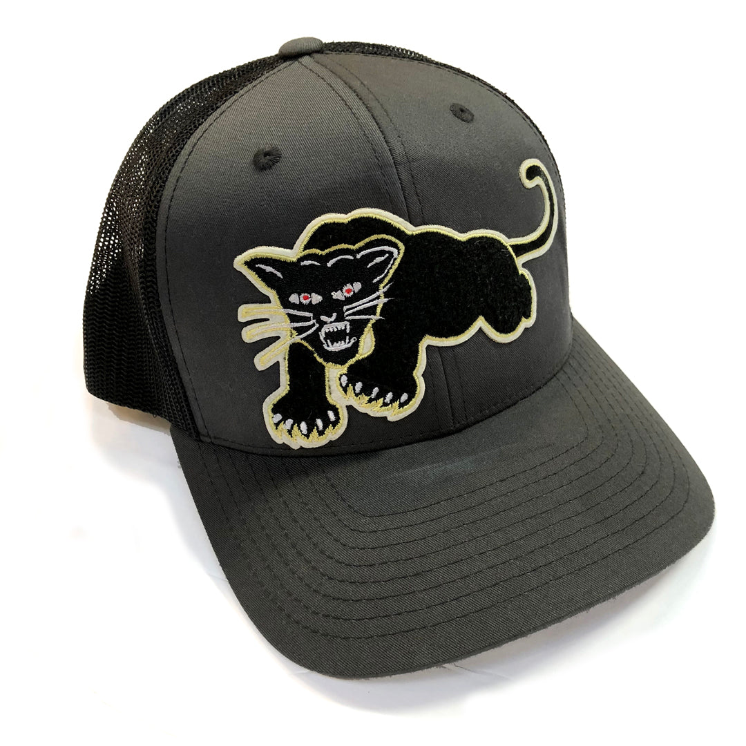 Panther Trucker Hat Charcoal