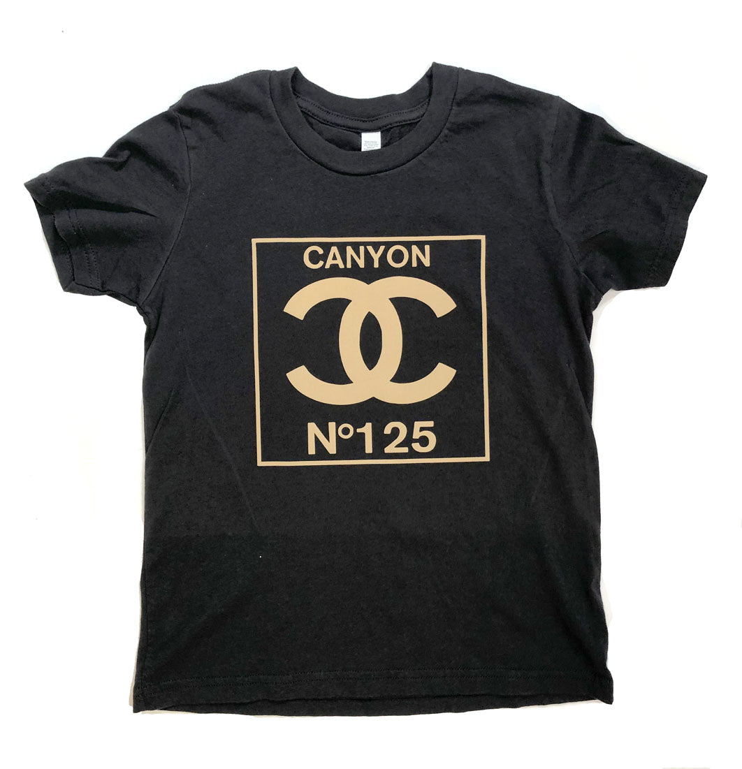 Double C's 125 years black tee - youth