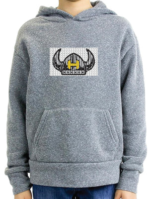 Hawthorne Flippy Pullover Hoodie - heather grey