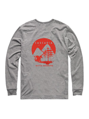 Cascadia Adult Dragon Long Sleeve Tee