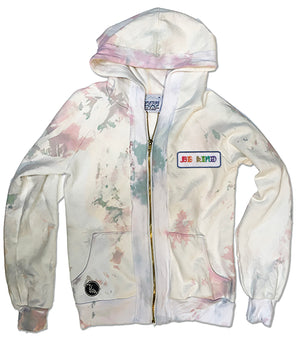 Youth Latimer hoodie - Cotton Candy wash