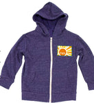 Youth Sunshine Hoodie - blue