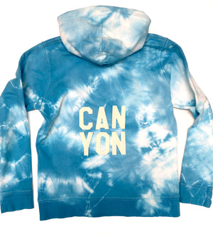 Youth Latimer hoodie - Sky wash - x-large