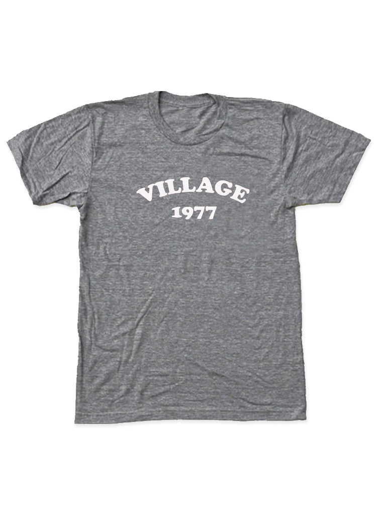 D. Adult Grey Short Sleeve Tee