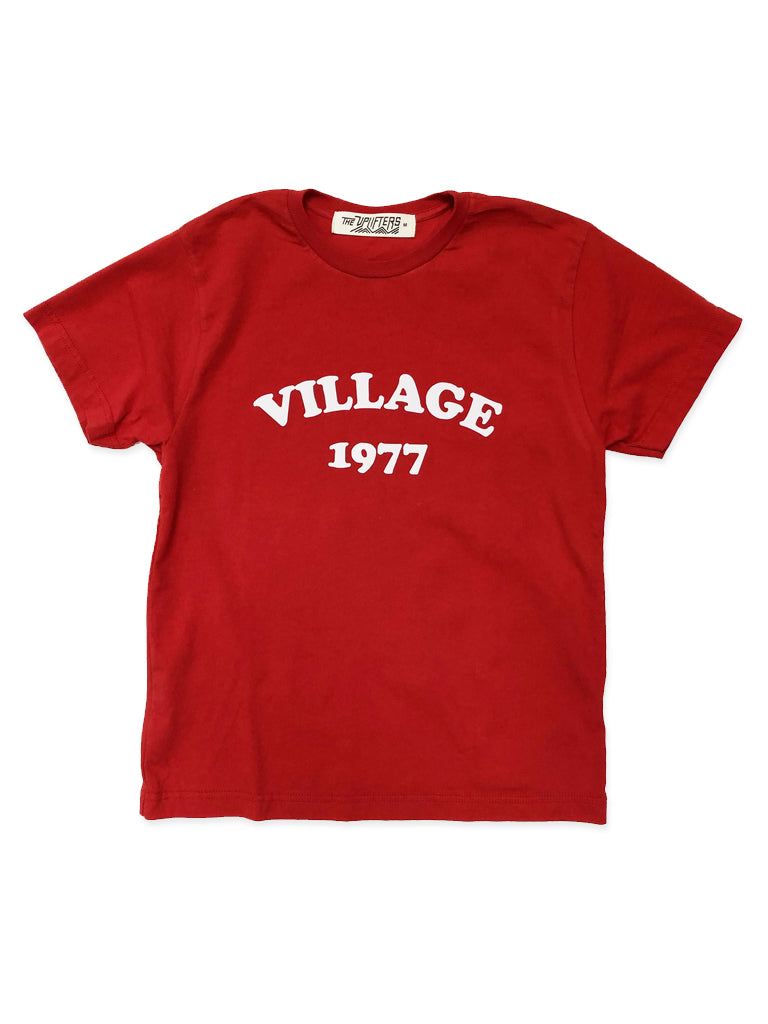 B. Youth Red Short Sleeve Tee