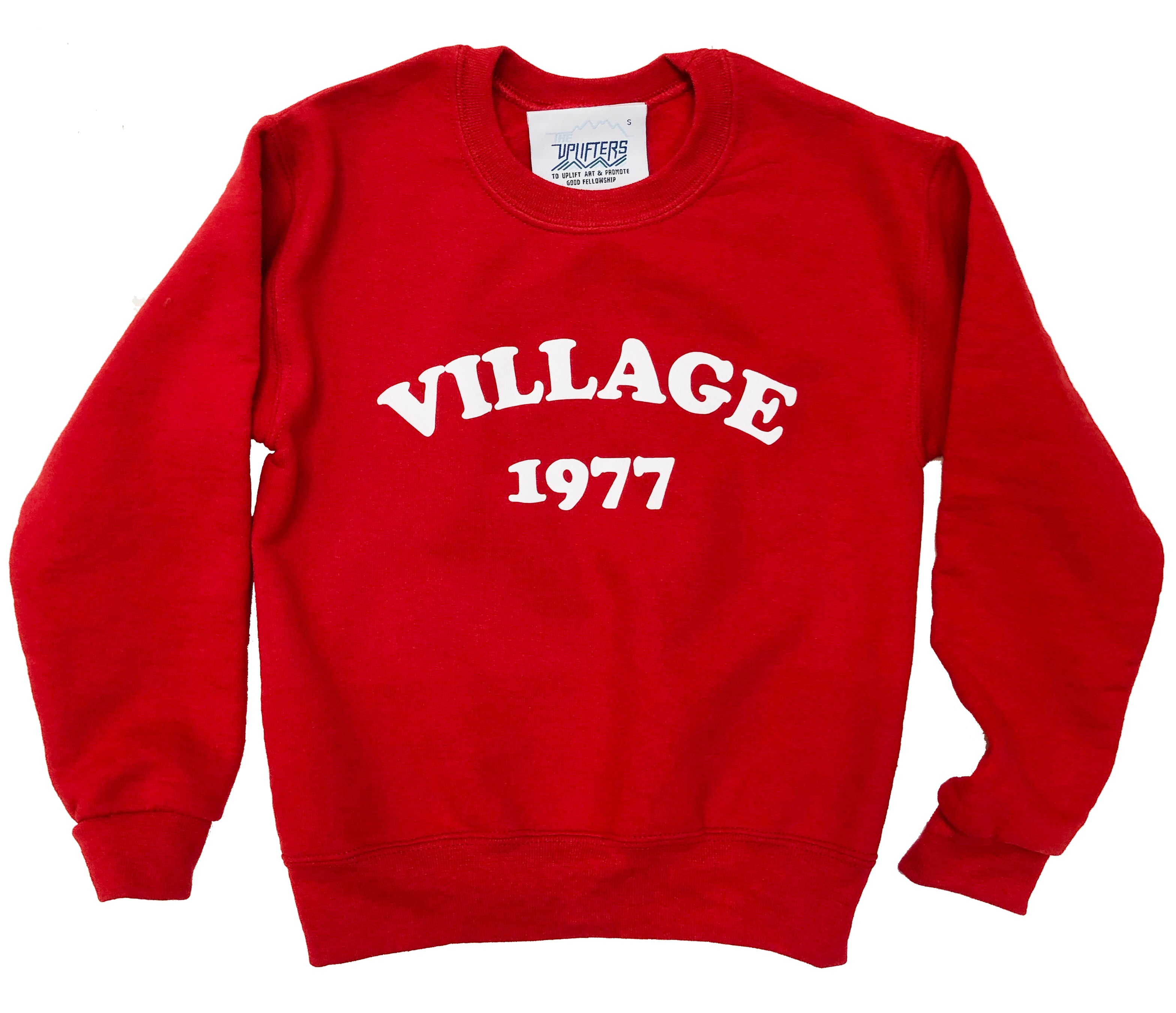 A. Village Vintaged pullover sweatshirt- Youth sizing