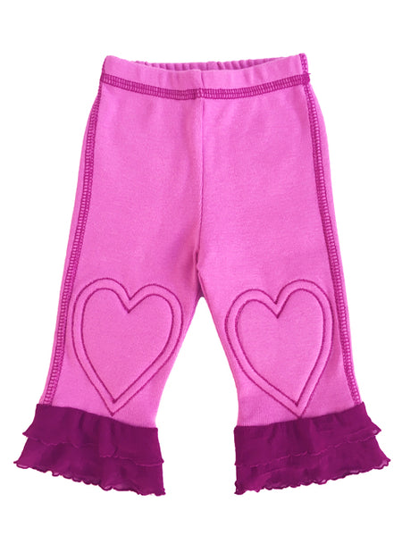 Baby Sweet Heart Ruffle Legging