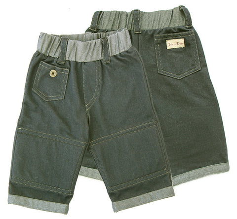 Stonewashed style,soft denim jean, a favorite, Eco-friendly, enzyme wash, extra softness,Lined, soft foam knee-pads for active crawlers,reinforced knee,toddlers