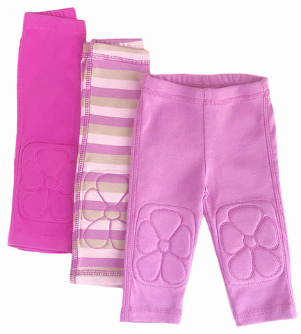 leggings with knee pads, padded knee, baby girl, girls, soft, cute, comfy, cotton, flowers, best, design, flower, legging