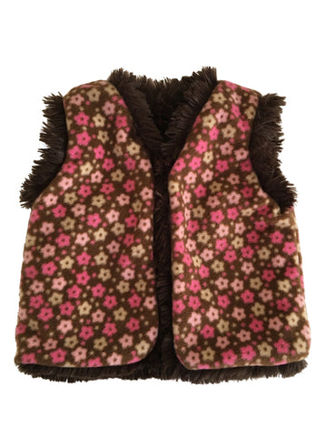 baby, girls,vest,softest, shaggy, faux fur,fleece,cover-up,cozy,warm,fall,winter,machine washable,soft,cuddle,reversible