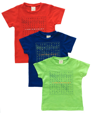 boys,softest,cotton,crewneck,tees,babies,love,colors,toddlers,word-search,letters,soft,fun,words,life,jam-on-baby,California,USA
