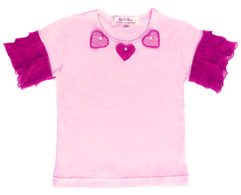 Girls Sweet Hearts Tee