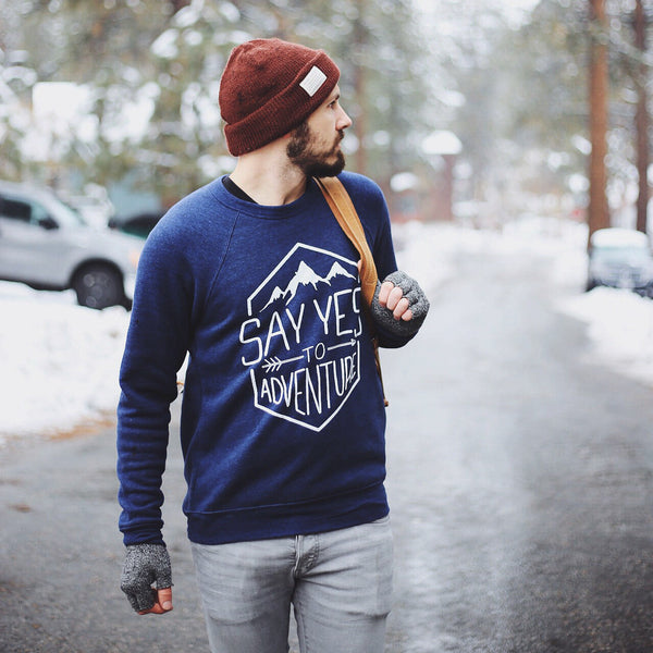 """Say Yes To Adventure"" Sweater"