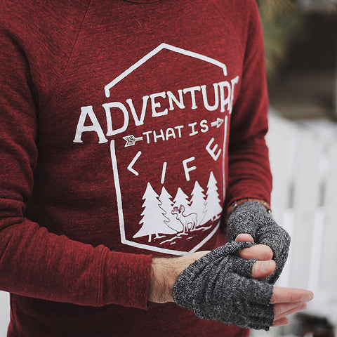 """Adventure That Is Life"" Sweater"