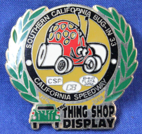 "BUG-IN #33 ""Thing Shop"" Pin"