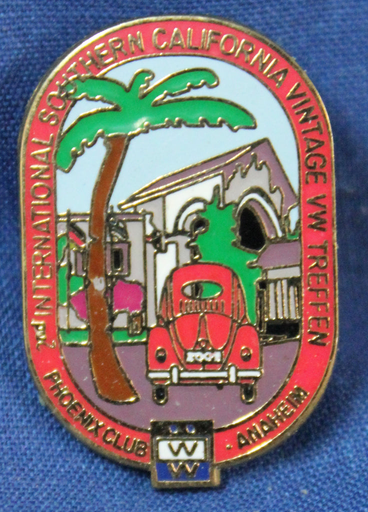 "2009 So. Cal Vintage VW Treffen ""Event"" Pin"