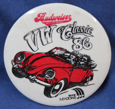 1986 VW Classic Button