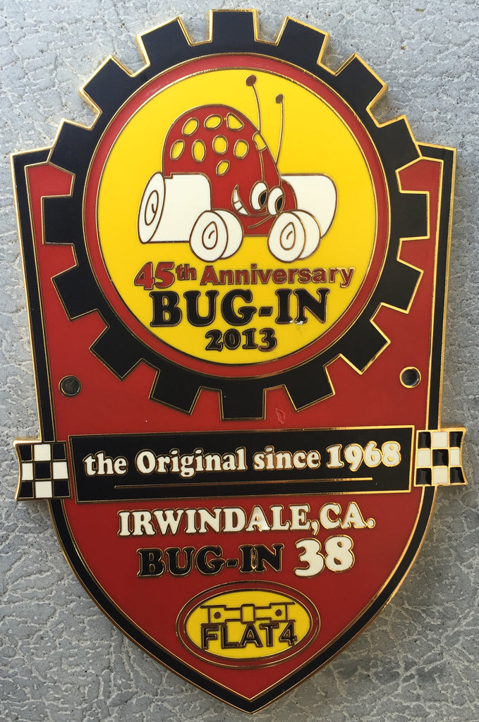 BUG-IN #38 Car Badge
