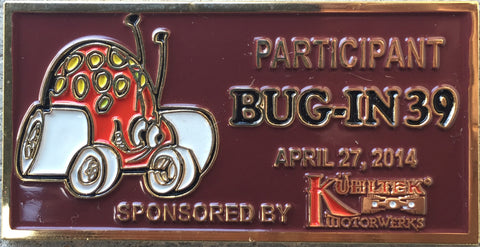 BUG-IN #39 Dash Plaque