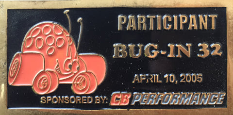 BUG-IN #32 Dash Plaque
