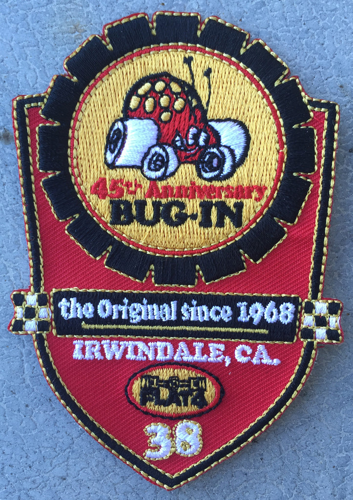 "BUG-IN #38 ""Badge"" Patch"