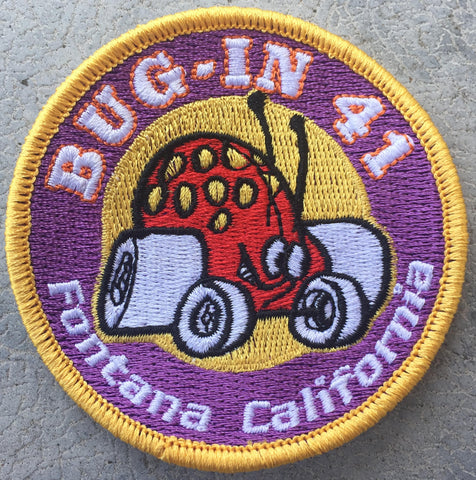 BUG-IN #41 Round Patch