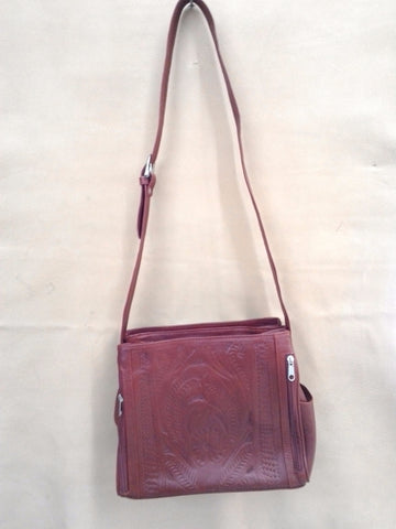 Ropin' West - Tooled Concealed Carry Handbag