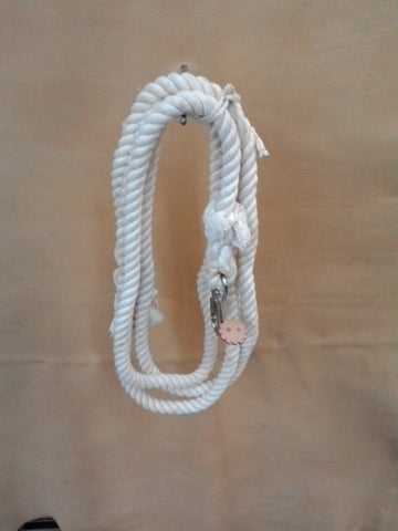 Lead Rope in Natural Cotton