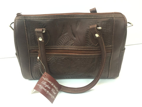 Ropin' West - Two Strap Leather Purse