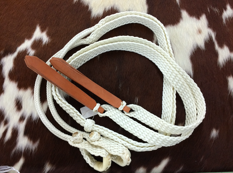 Braided Paracord Roping Reins - 7-1/2'