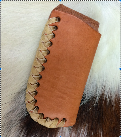 Simple Rawhide Laced Scabbard