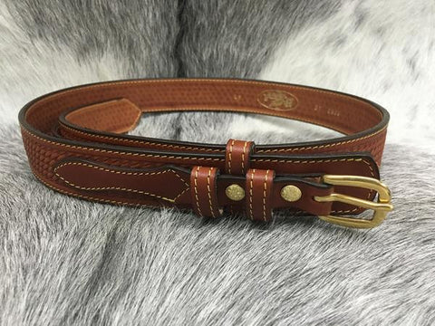 Basketweave Ranger Belt