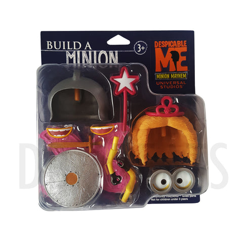 "Despicable Me Minion Mayhem Build A Minion Princess Fairy & Hero Knight 4"" Figure by Universal Studios"