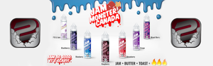Jam Monster 60mL E-Juice Newmarket Vaughan GTA Woodbridge Toronto Ontario Canada