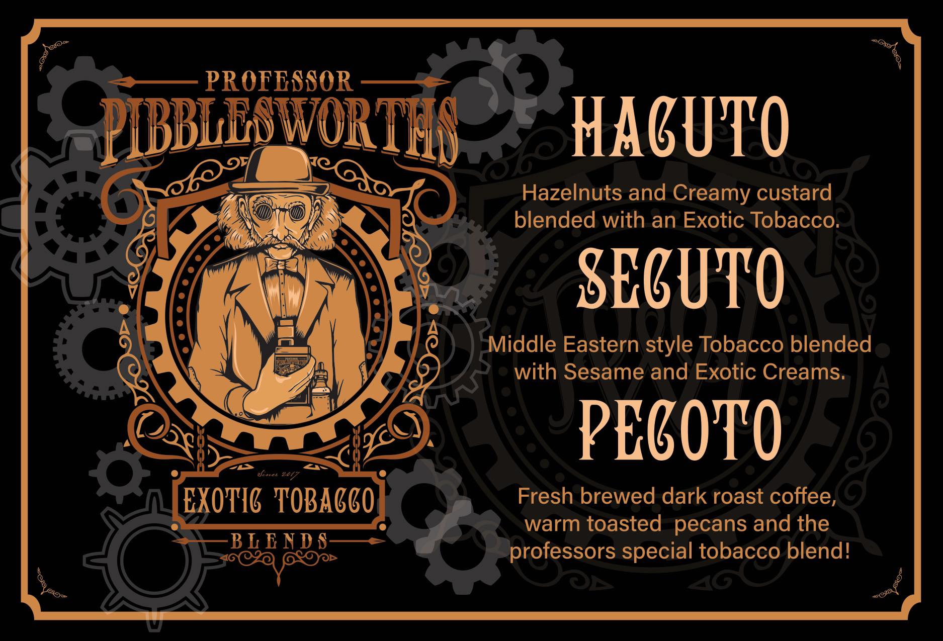Hacuto (Nic Salt) - Professor Pibblesworths - IN2VAPES