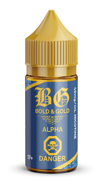 Alpha Bold & Gold Kloudheadz Alliston Newmarket Vaughan Woodbridge Toronto Ontario Canada