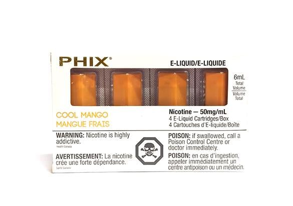 Cool Mango PHIX Prefilled Replacement Pods MLV Alliston Newmarket Vaughan GTA Toronto Woodbridge Ontario Canada