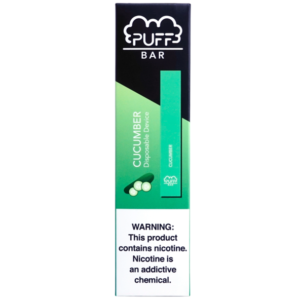 Cucumber Puff Bar Disposable Vape Alliston Newmarket Woodbridge Vaughan Toronto GTA Ontario Canada