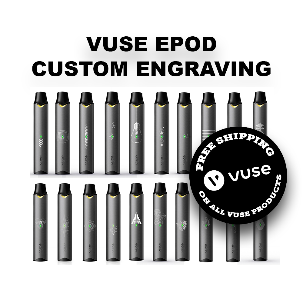 VUSE ePod Custom Engraving