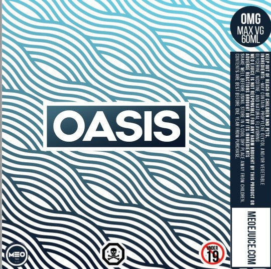 Oasis - MEO - IN2VAPES
