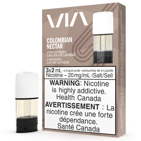 Colombian Nectar VIA STLTH Pod Pack Alliston Newmarket Woodbridge Vaughan GTA Toronto Ontario Canada